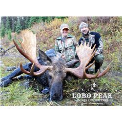 8-Day Moose Hunt for One Hunter in British Columbia