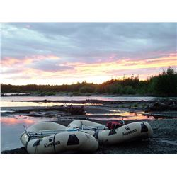 6-Day Alaskan Float Raft Fishing Adventure for Two Anglers