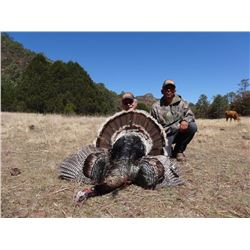 9-day Gould's Turkey Hunting and Bass Fishing Adventure for Two in Hermosillio, Mexico