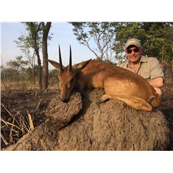 6-Day Antelope Cameroon Savannah Safari for One Hunter and One Non-Hunter - Includes Trophy Fee