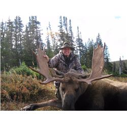6-Day Newfoundland Moose and Black Bear Hunt for One Hunter in Canada - Includes Trophy Fees