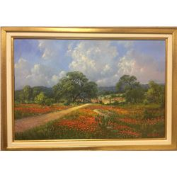 Original Oil on Canvas Painting by Texas Artist Kay Walton