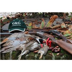 1-Day Driven Pheasant Hunt for Two Hunters and Two Non-Hunters in Gavi, Italy