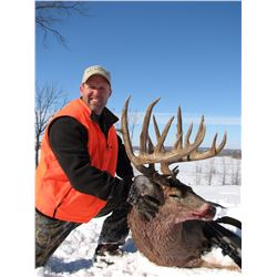 12/24-Day Whitetail Deer Hunt for One Hunter in Kansas - Includes Trophy Fee