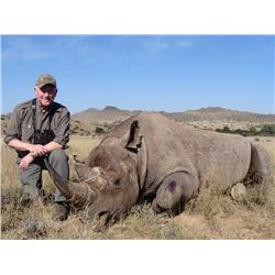 7-Day DARTED White Rhino Hunt for One Hunter and One Non-Hunter in the Eastern Cape of South Africa