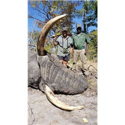 10-Day Non-Export Elephant Hunt for One Hunter and One Non-Hunter in the Caprivi Region of Namibia -