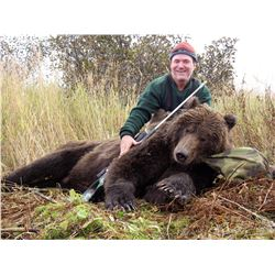 7-Day Brown Bear Hunt for One Hunter in Western Alaska - Includes Trophy Fees