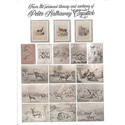 Collection from the Personal Archives of Peter Hathaway Capstick & 3-Day Hunting/Touring Package in