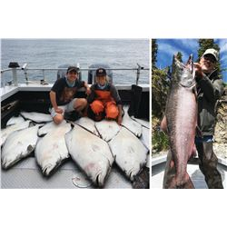 4-Day/5-Night Fishing Adventure for Four Anglers on the Famous Kenai Peninsula of Alaska