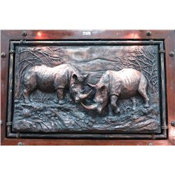 One-Of-A-Kind Commissioned 3-D Cold Bronze by Kobus Moller