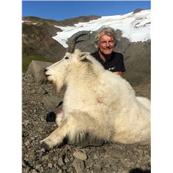 5-Day Mountain Goat Hunt for One Hunter in Alaska - Includes Trophy Fee