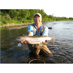 6-day Alaskan Fly-fishing Adventure for Two Anglers