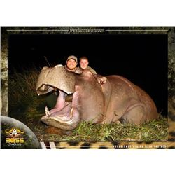 7-day South Africa Hippo Hunt for One Hunter and One Observer