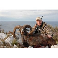 5-day Croatia European Mouflon and Feral Goat Hunt for One Hunter and One Observer