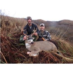 5-day Kodiak Island Sitka Black-tailed Deer Hunt for Two Hunters