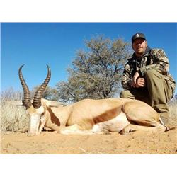 7-day South African Plains Game Hunt for Two Hunters
