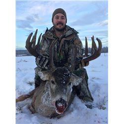 6-day British Columbia Northwestern White-tailed Deer Hunt for One Hunter