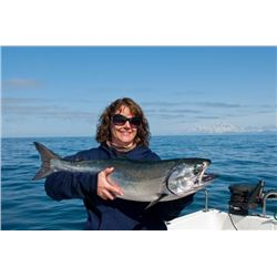 3-day Alaska Salmon and Halibut Fishing Trip for Two Anglers