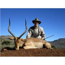 10-day South Africa Plains Game Hunt for One Hunter and Two Observers