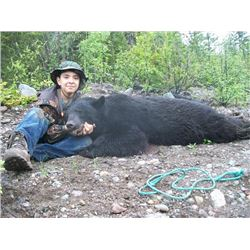 5-day British Columbia Trophy Spring Black Bear Hunt for One Hunter and One Observer