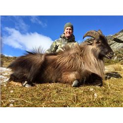 5-day New Zealand Tahr and Chamois Hunt for Two Hunters and a $1,000 Credit Towards Red Stag