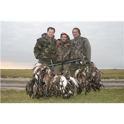 6-day Argentina Duck, Perdiz, Pigeon, Dove and Rabbit Hunt for Four Hunters and Two Observers