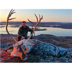5-day Greenland Reindeer and Artic Char Trip for One Hunter and One Observer