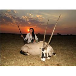7-day Namibia Plains Game Hunt for One Hunter and One Observer