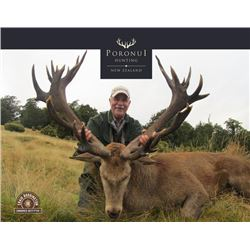 5-day New Zealand Silver-Medal Red Stag Hunt for Two Hunters