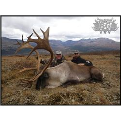 11-day Yukon Trophy Moose or Mountain Caribou Hunt for One Hunter and One Non-hunter