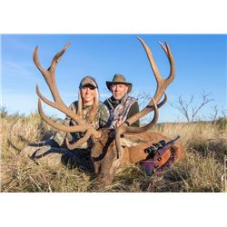 6-day/7-night Argentina Red Deer, Blackbuck and Texas Dall Sheep for Two Hunters