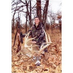 12-day Rifle or 24-day Muzzleloader Kansas Elite Midwestern White-Tailed Deer Hunt for One Hunter