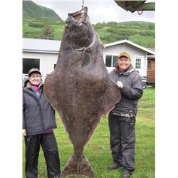 5-day/5-night Alaskan Salmon and Halibut Fishing Trip for Two Anglers