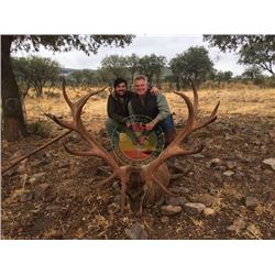 5-day Spain Iberian Red Deer Hunt for One Hunter and One Observer