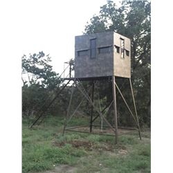 5x7, 12-ft. Atascosa/Bushlan Bow/Rifle Blind w/luxury package