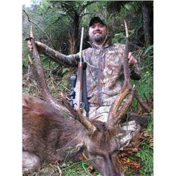 5-day New Zealand Rusa Deer Hunt and $1,000 Credit Towards Red Stag for Two Hunters and Two Observer