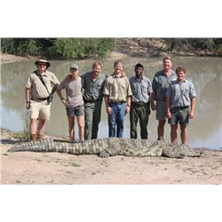 10-day South Africa Crocodile Hunt and Taxidermy Credit for One Hunter and One Observer