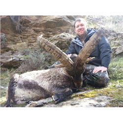 8-day Spain Beceite and Southeastern Ibex Hunt for One Hunter and One Observer