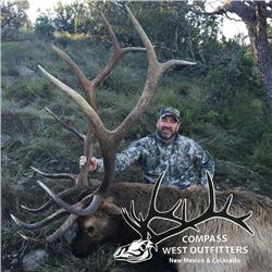 5-day New Mexico Rocky Mountain Elk Hunt for One Hunter