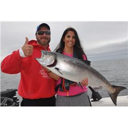 3-day/4-night Vancouver Island, BC, Canada Salmon, Halibut and Lingcod Fishing Trip for Two Anglers
