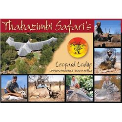 10-day South Africa Plains Game Hunt for Two Hunters and Two Observers