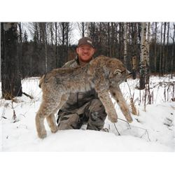 6-day British Columbia Canadian Lynx Hunt for One Hunter