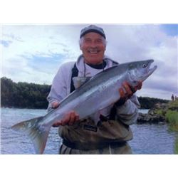 5-day Alaska Salmon, Trout, Grayling, Char and Dolly Varden Trip for One Angler