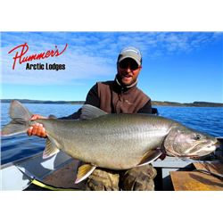 3-day NWT Trophy Lake Trout, Arctic Grayling and Pike Fishing Trip for Two Anglers