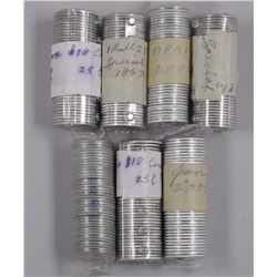 7x Rolls - 2000 25 Cent Mixed Coins (ATTN: 7 Times the bid price)