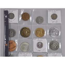 15x Coins, Medals, Tokens, Silver (ATTN: 15 Times the bid price)
