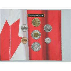 Oh Canada UNC Coin Set - Gift Folio with Flying Loon