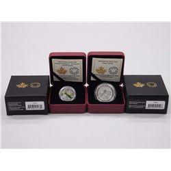 2x RCM - .9999 Fine Silver Coins - $10.00-$3.00 Green Darner and Animal Architects. LE / C.O.A. Arch