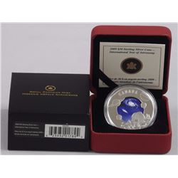 RCM .9999 Fine Silver $30.00 Coin 'Year of Astronomy'. LE/C.O.A.