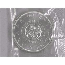 1964 Canada Silver Dollar Coin 'Proof Like'